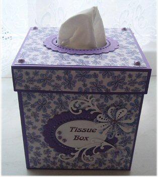 Tissue box- bovenka…